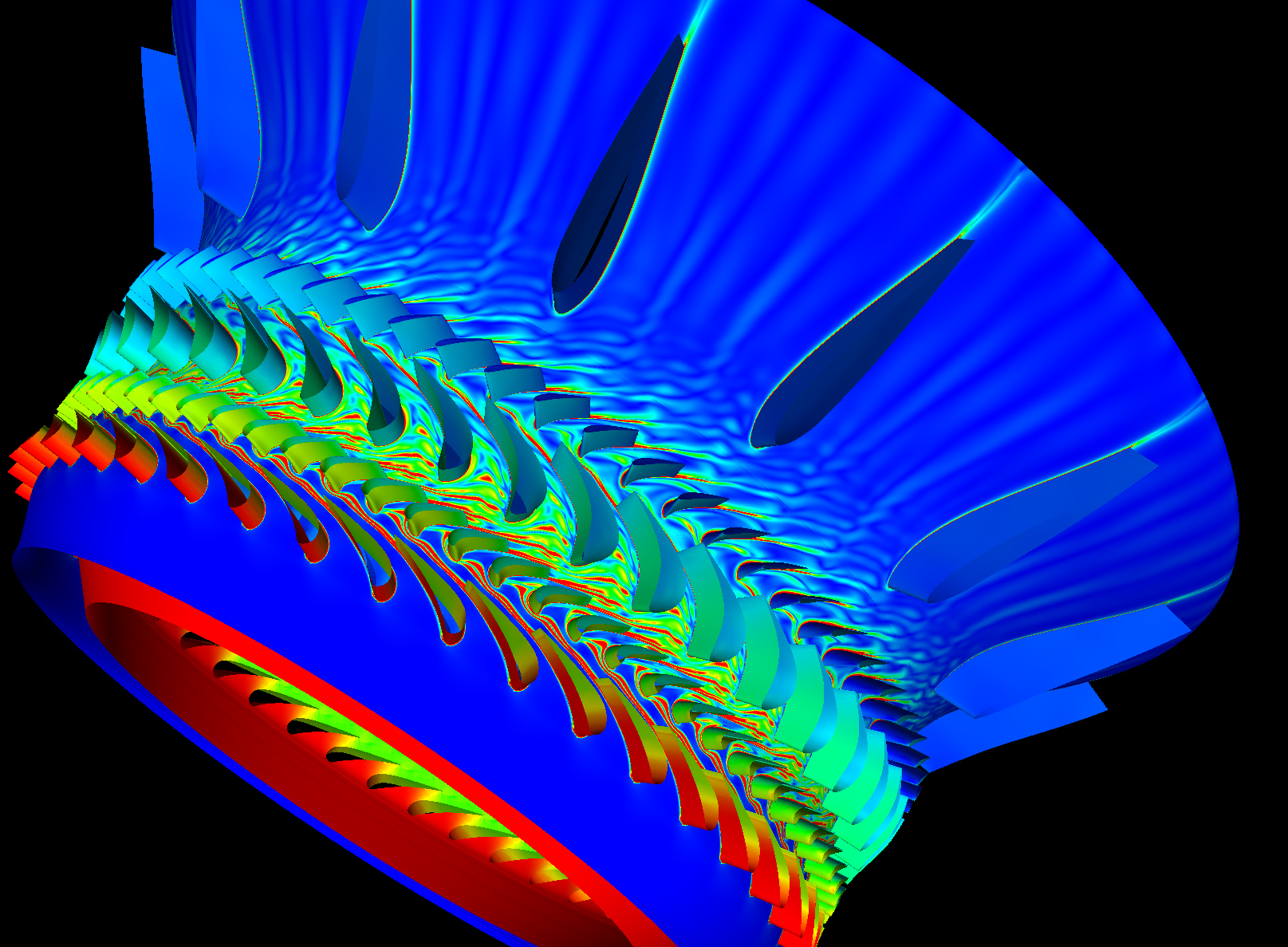 File Jet Engine Blades Simulation Jpg Wikimedia Commons