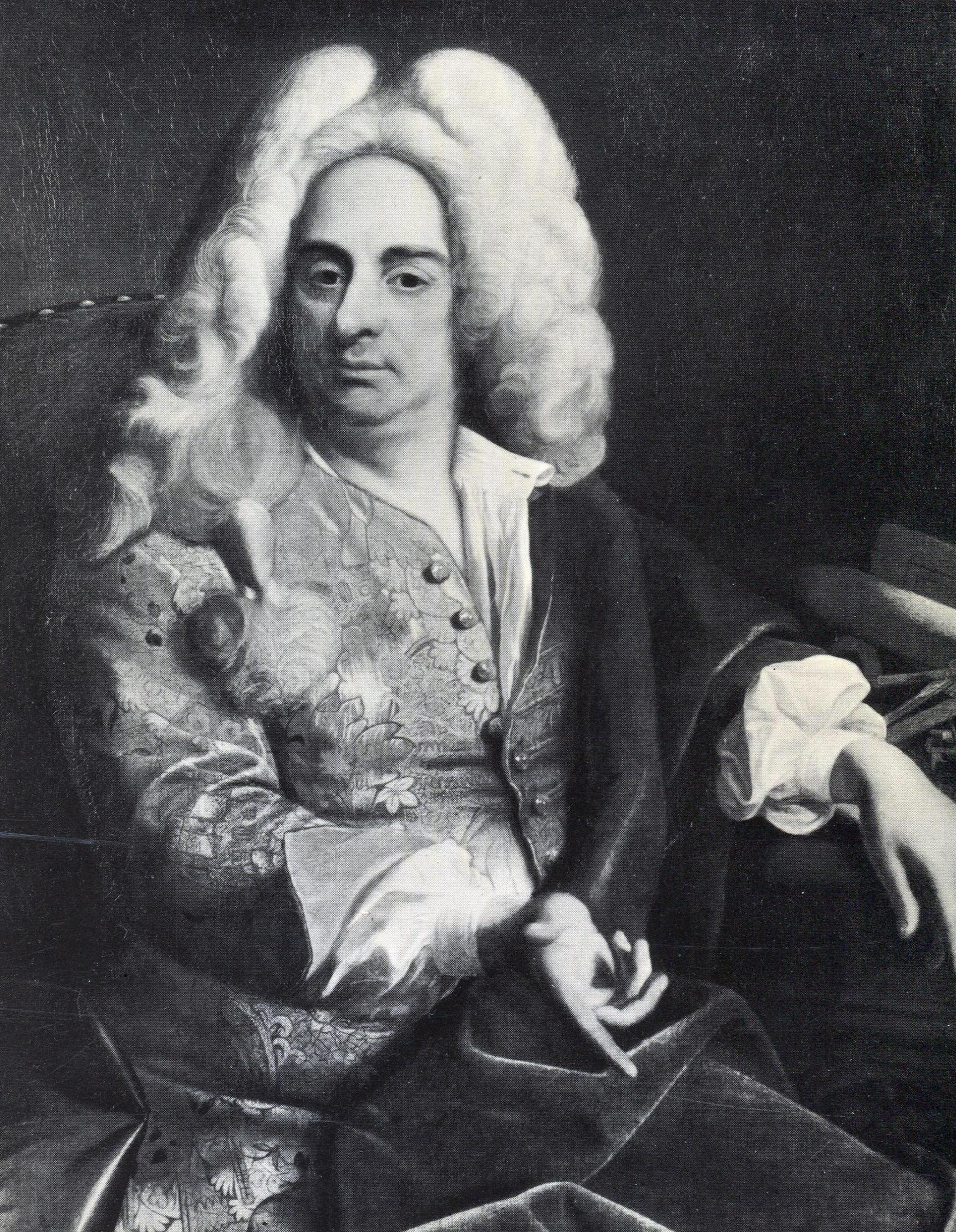 Portrait by Ádám Mányoki, c. 1723