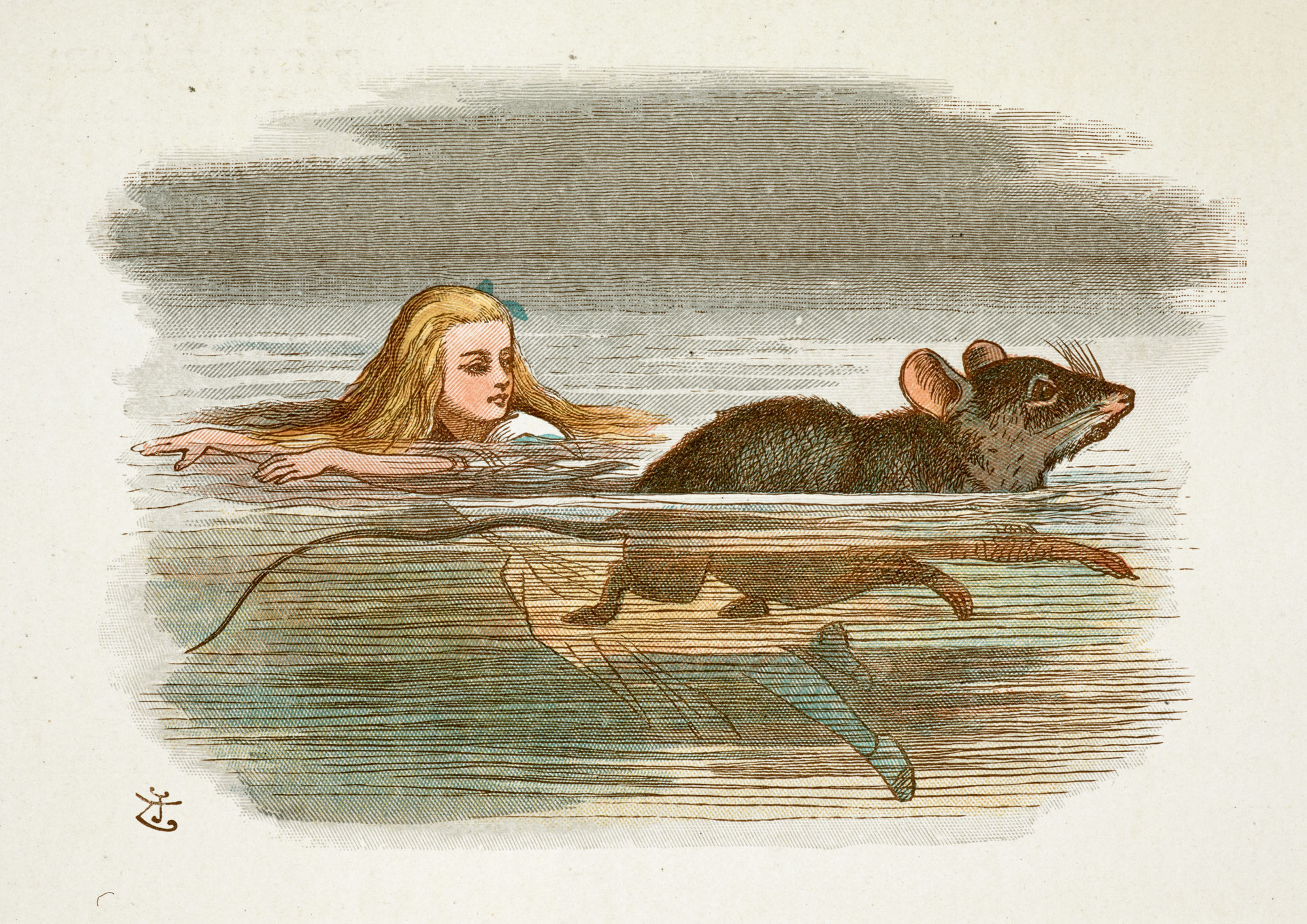 Alice In Wonderland Painting Ideas