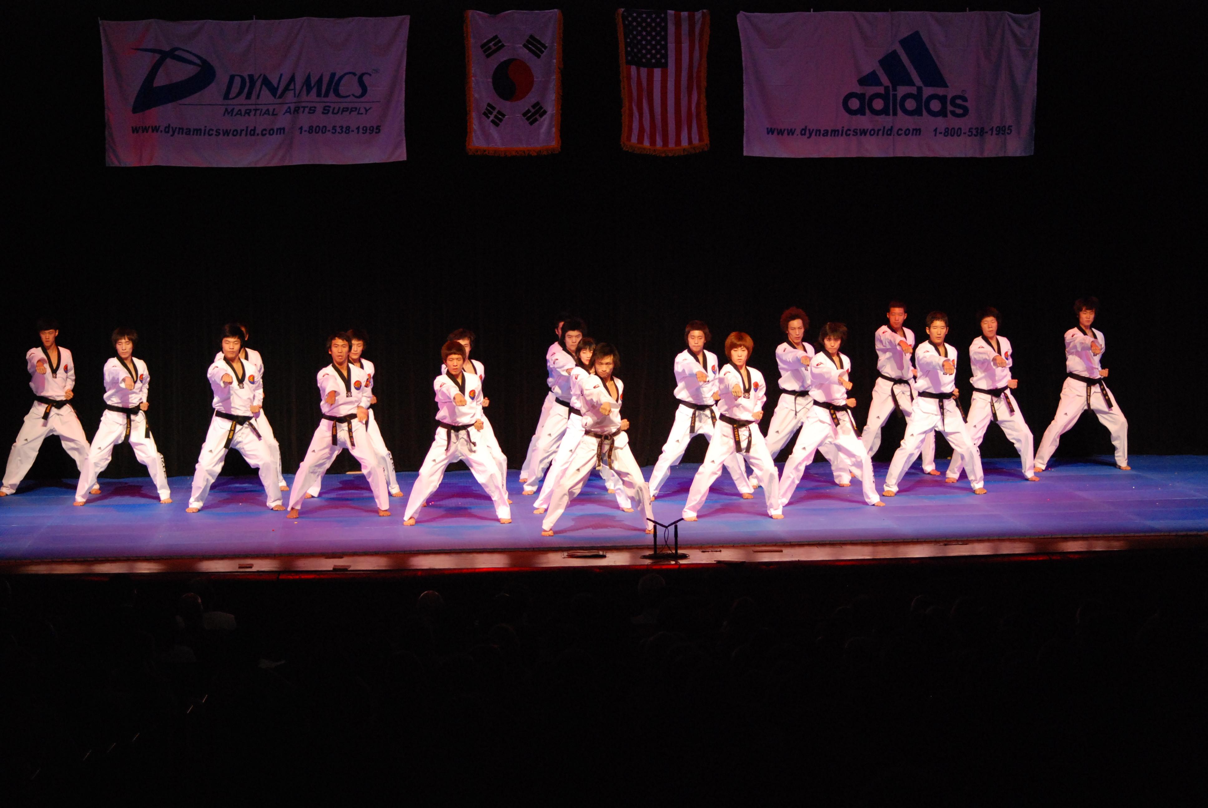 club taekwondo performance