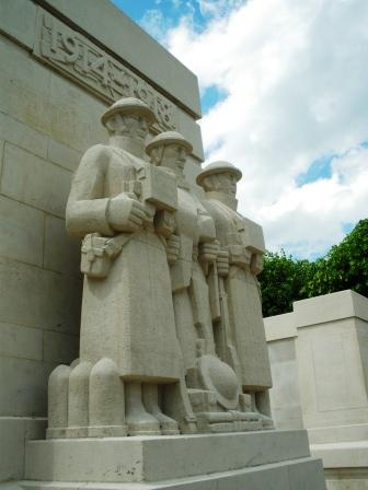 Le Monument britannique (1914-1918) - Soissons
