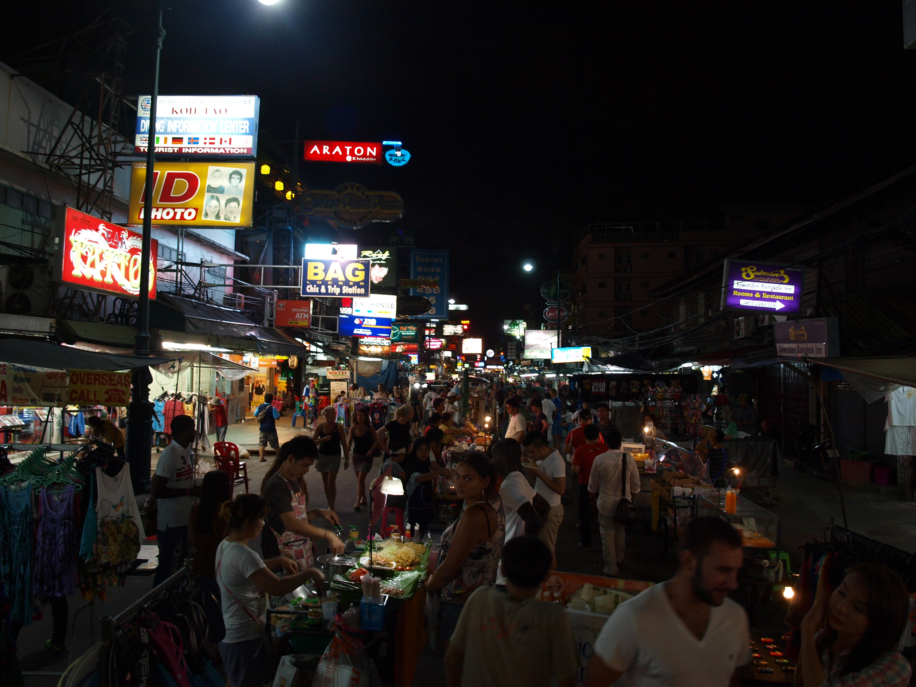 how to get to khao san road from bangkok airport