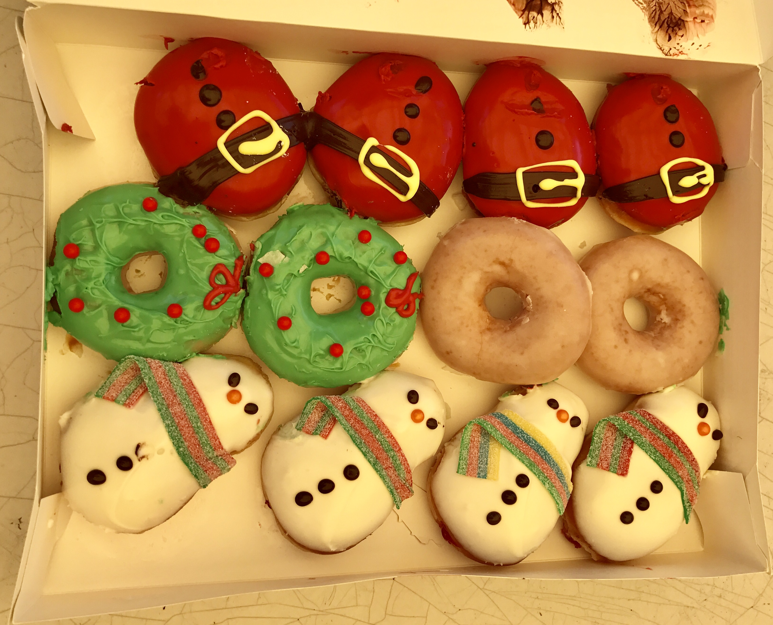 Image result for donuts christmas theme