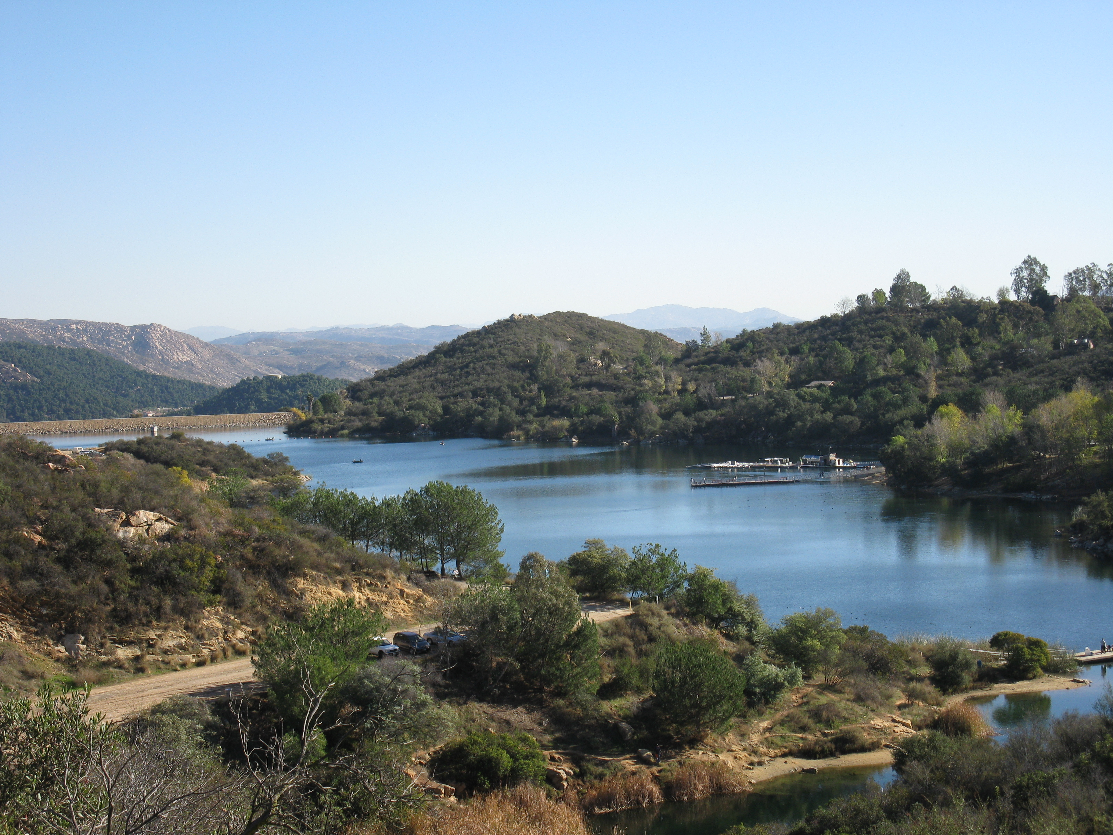 File Lake Dixon Escondido Ca Jpg Wikimedia Commons