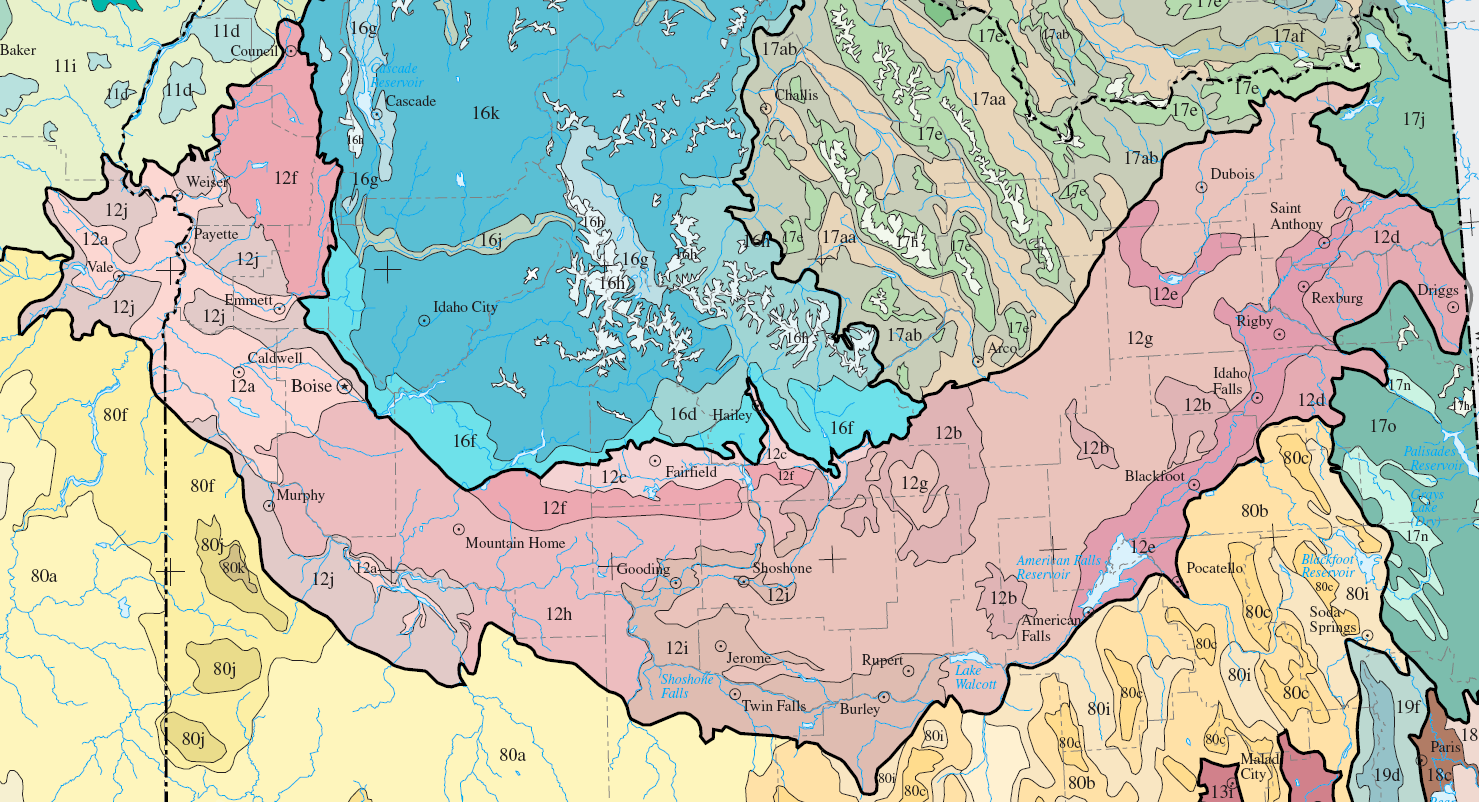 FileLevel IV Ecoregions Snake River Plainpng Wikimedia Commons - Snake river world map
