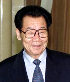 中國政協主席李瑞環(圖片來自:俄羅斯總統克里姆林宮網站http://www.kremlin.ru)