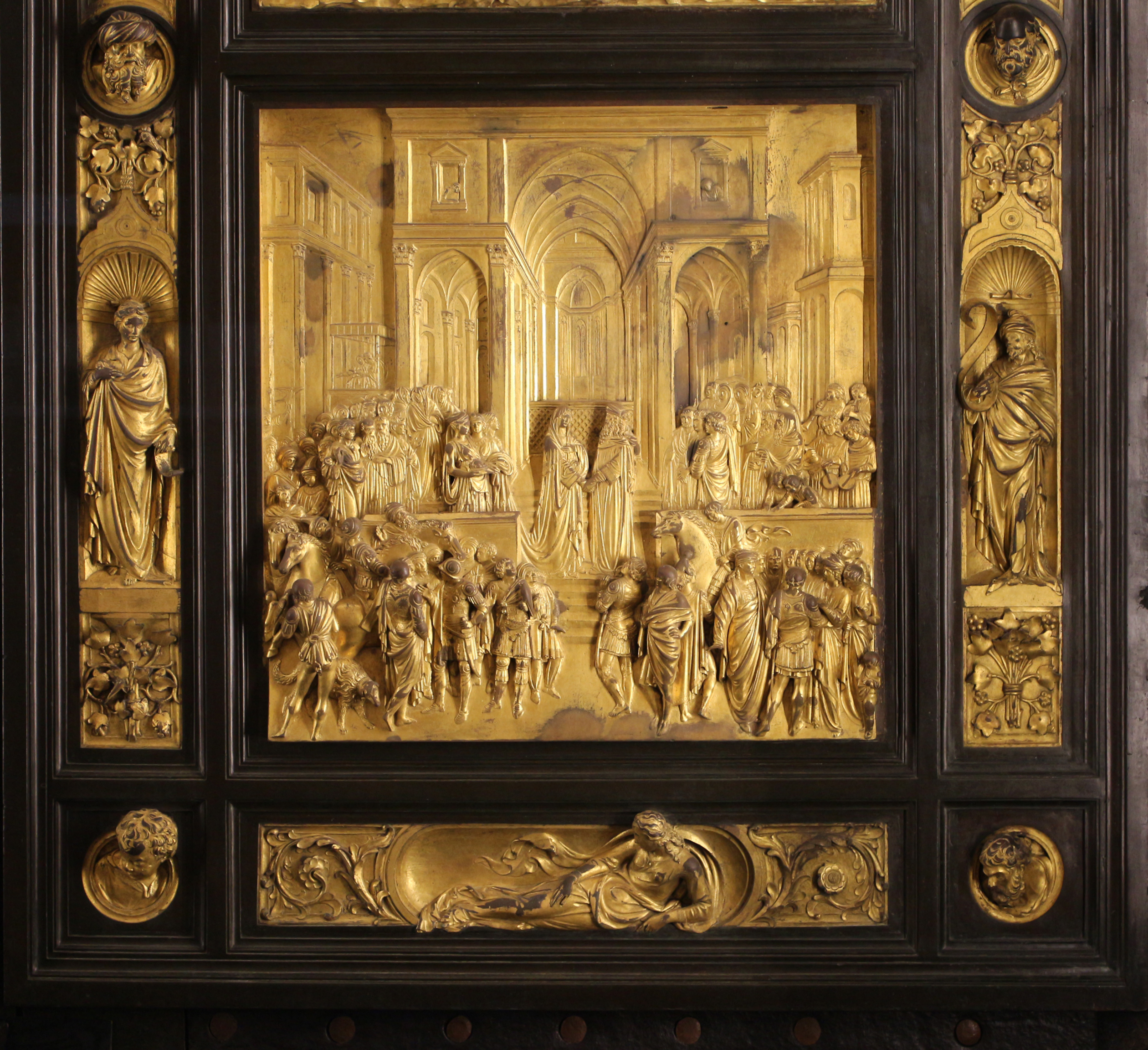 the works of lorenzo di cione ghiberti Oxford art online article url: ghiberti: (1) lorenzo ghiberti (1) lorenzo (di cione) ghiberti.