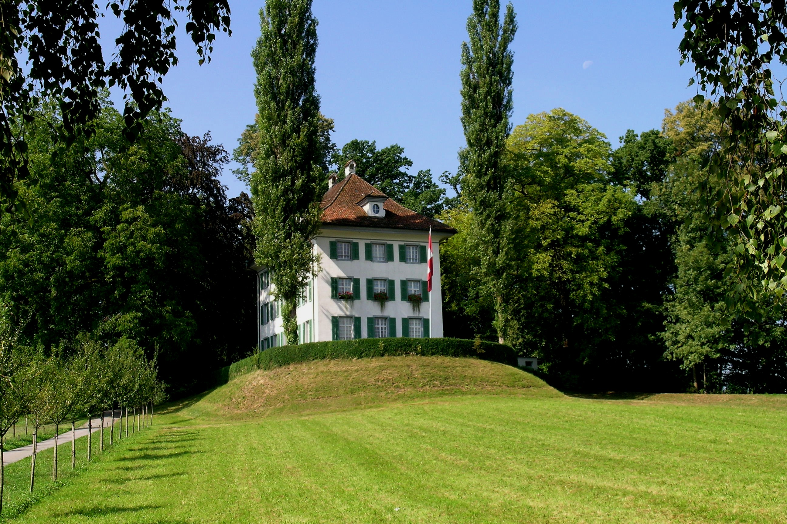 La Villa Tribschen de Lucerna, convertida en Museo Richard Wagner.