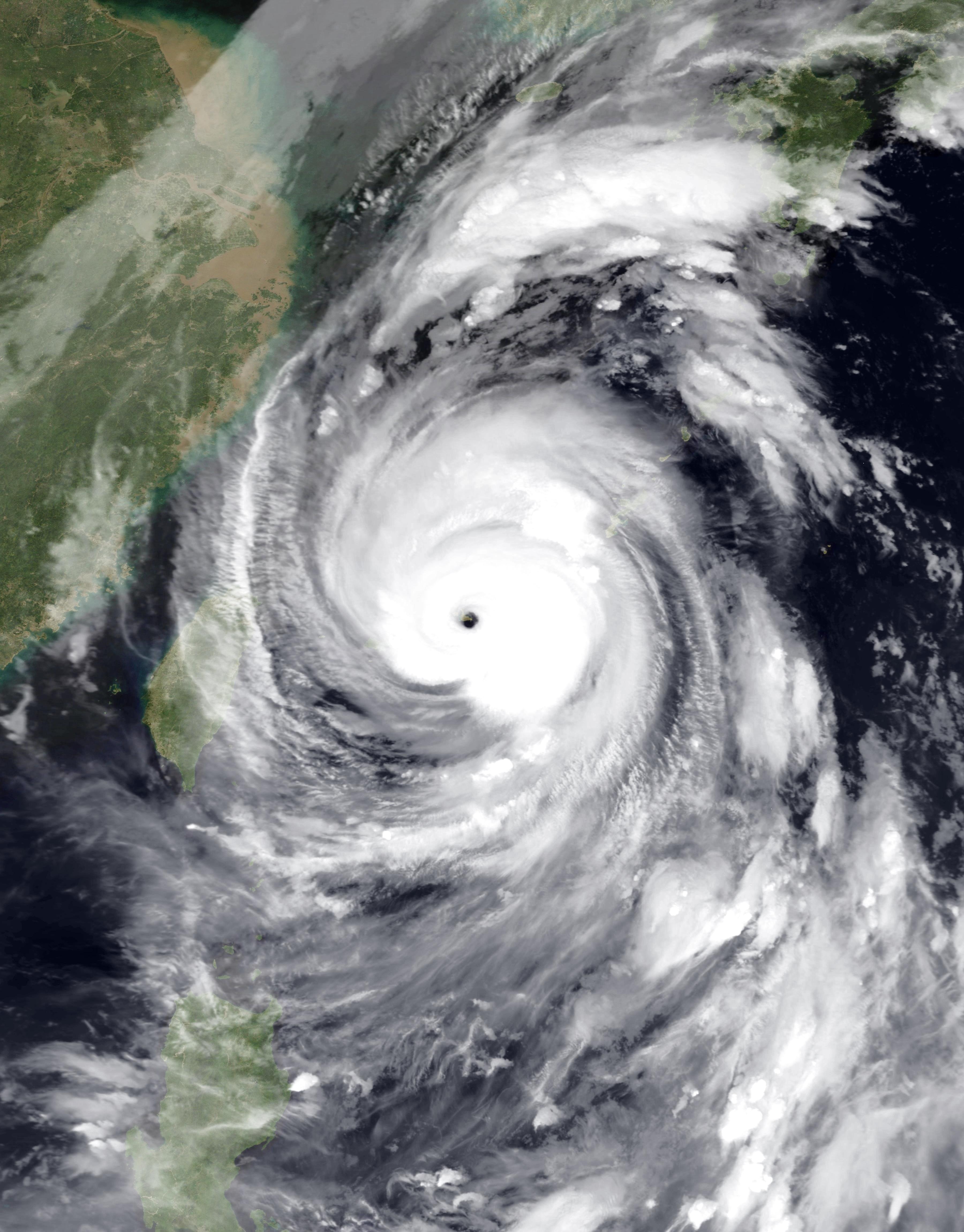 台風 14 号 被害