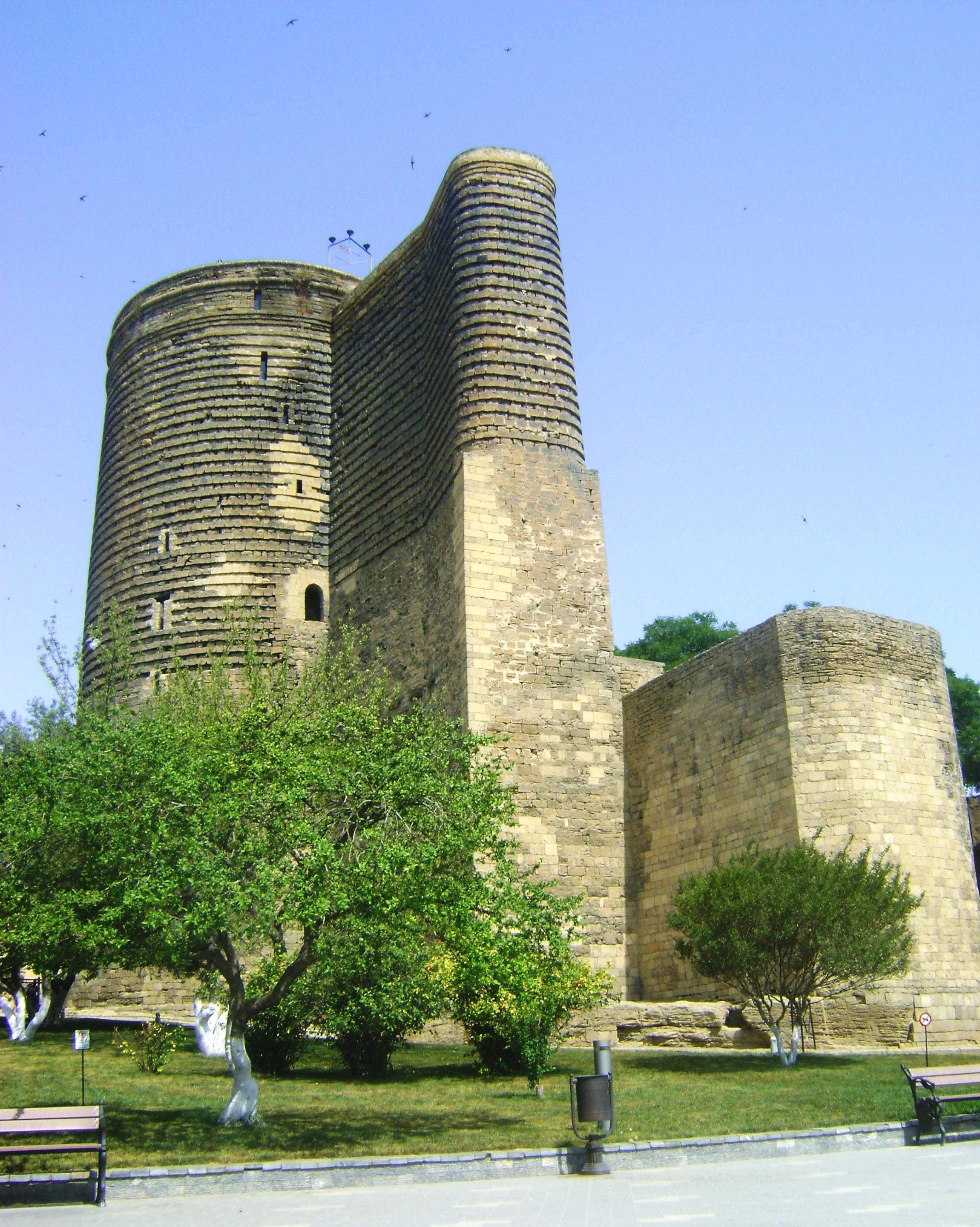 File:Maidens tower baku.jpg - Wikimedia Commons