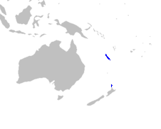 Xeronemataceae distribution map