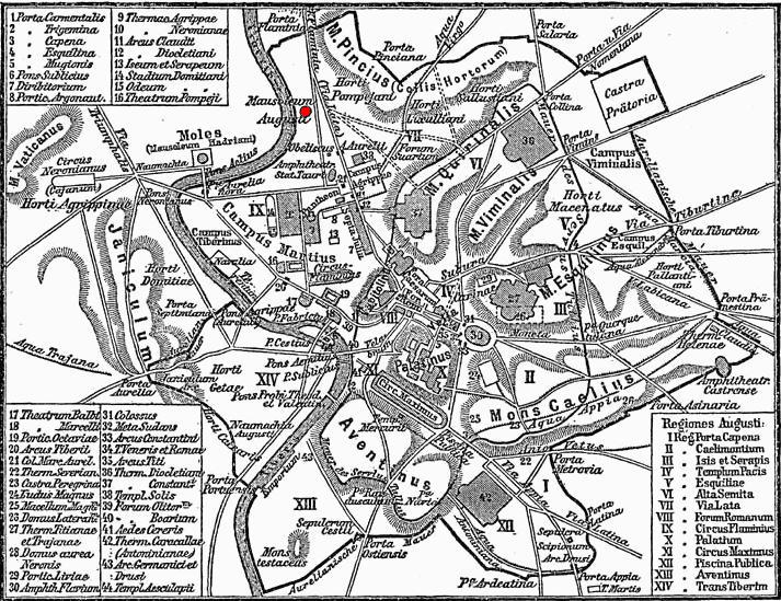 Archivo:Map Rome Augustus mausoleum.JPG