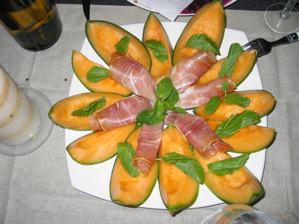 Le forum de dany alliaire - Melon jambon cru presentation ...