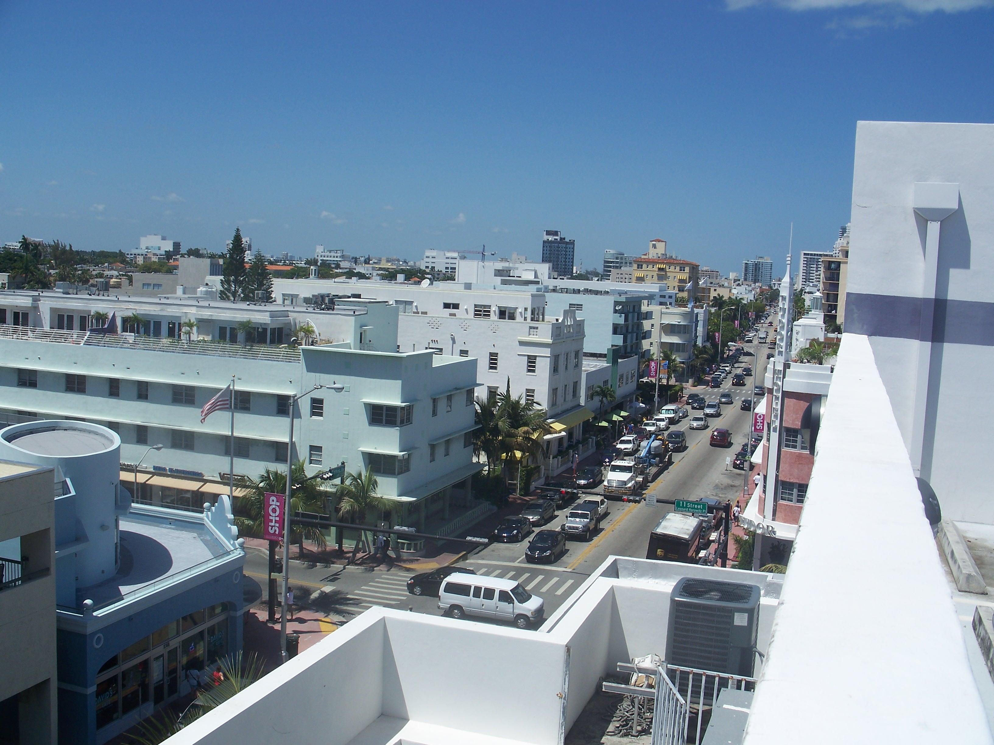 Collins Avenue Miami Beach Florida