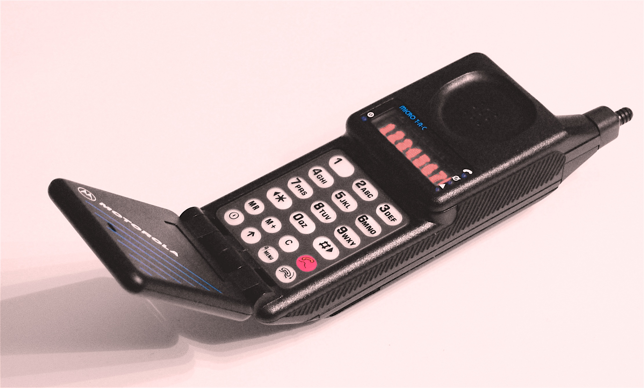 Imagens de telemóveis antigos - Motorola MicroTAC 9800X