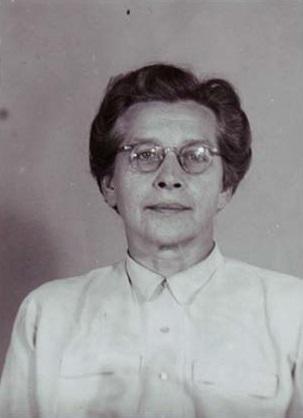 Milada Horáková (identifikační fotografie)
