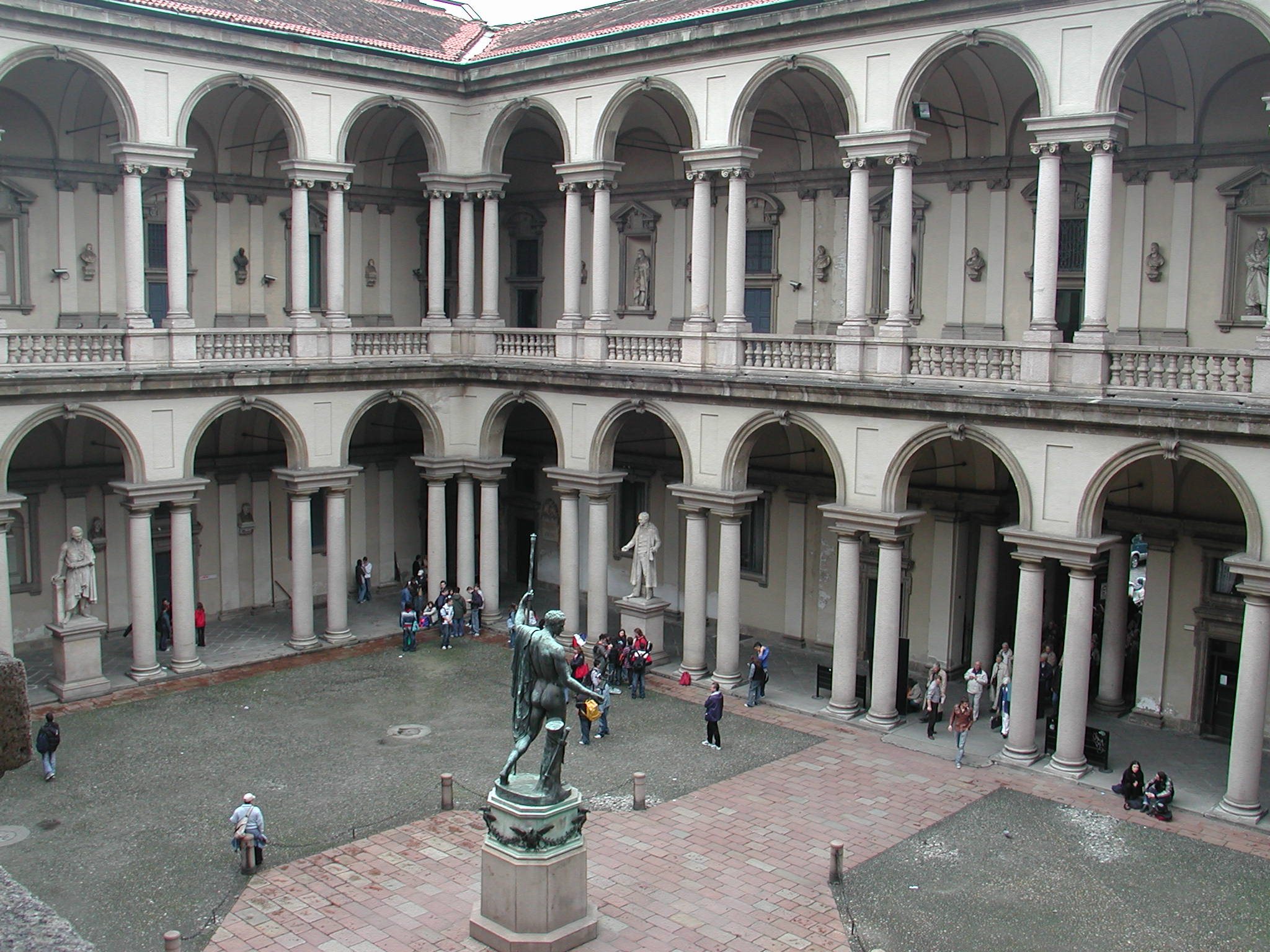 Accademia Di Milano Of Pinacoteca Di Brera Wikiwand