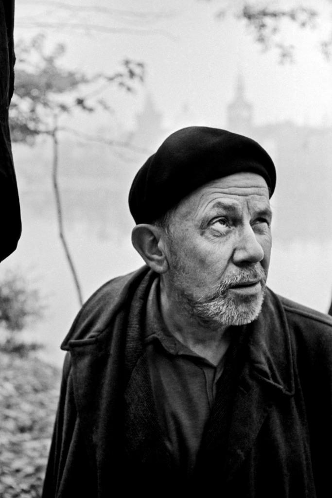 Josef Sudek in 1958