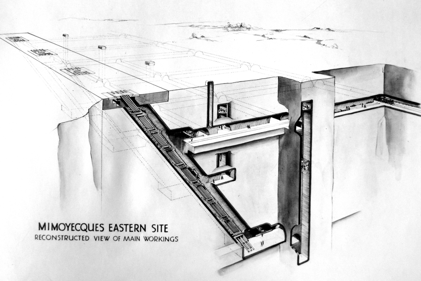 Fortress_of_Mimoyecques on Underground Concrete Home Plans