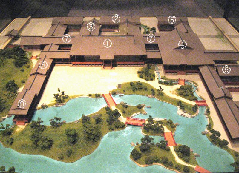 東三条殿復元模型