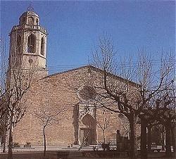 Vista del Monasterio de Sant Esteve