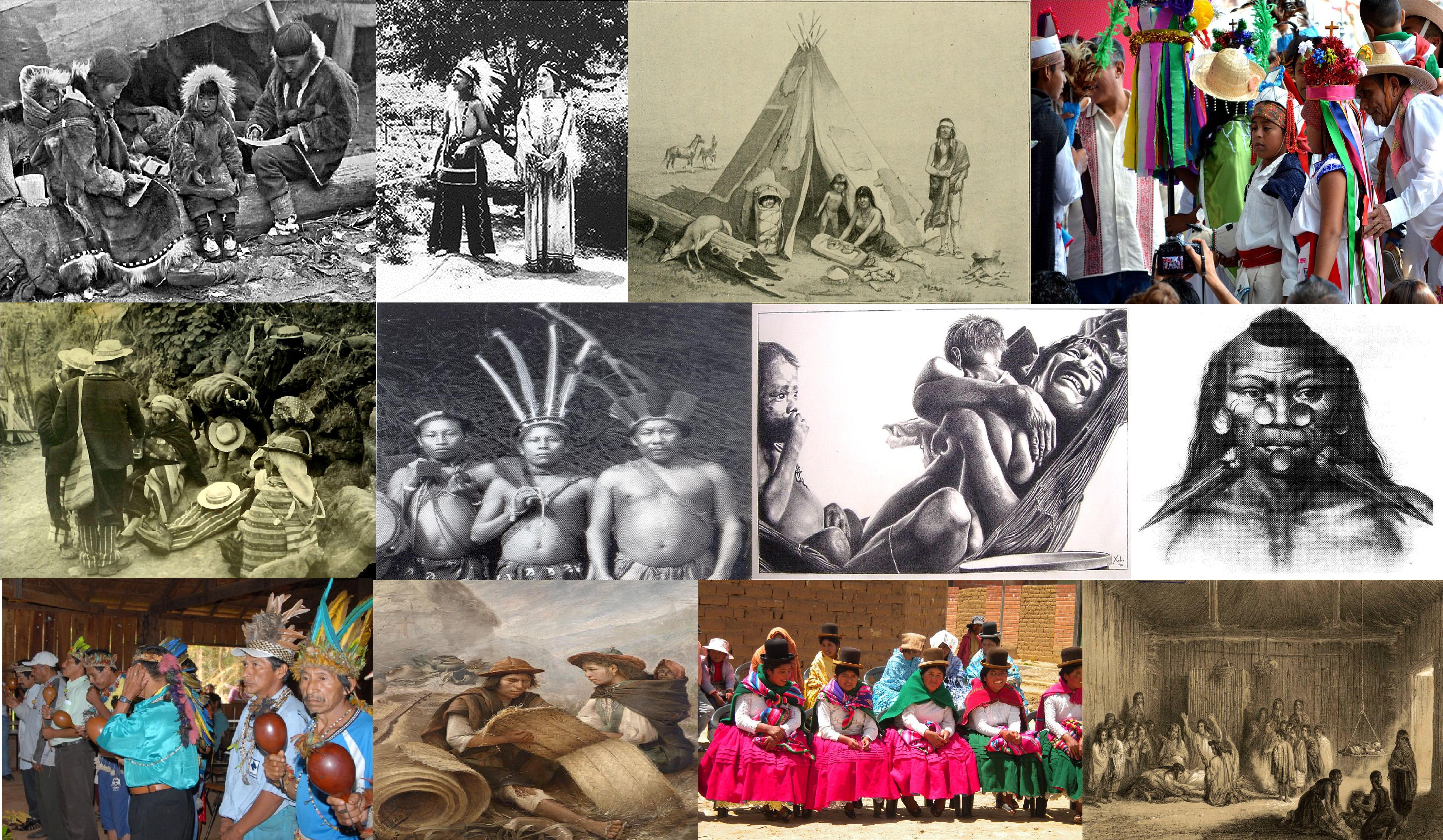 Indígenas De América Wikipedia La Enciclopedia Libre