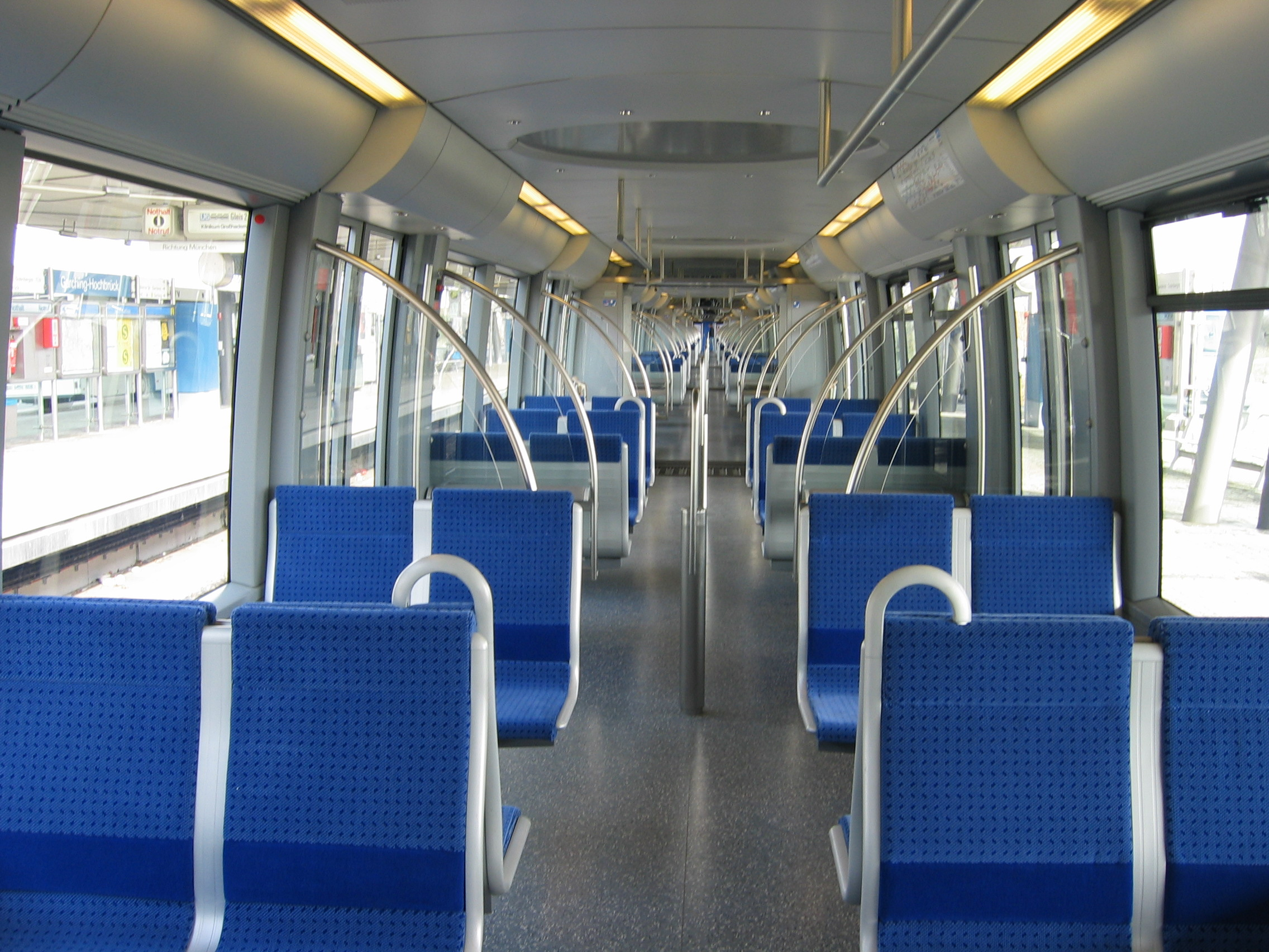 Munich subway C interior