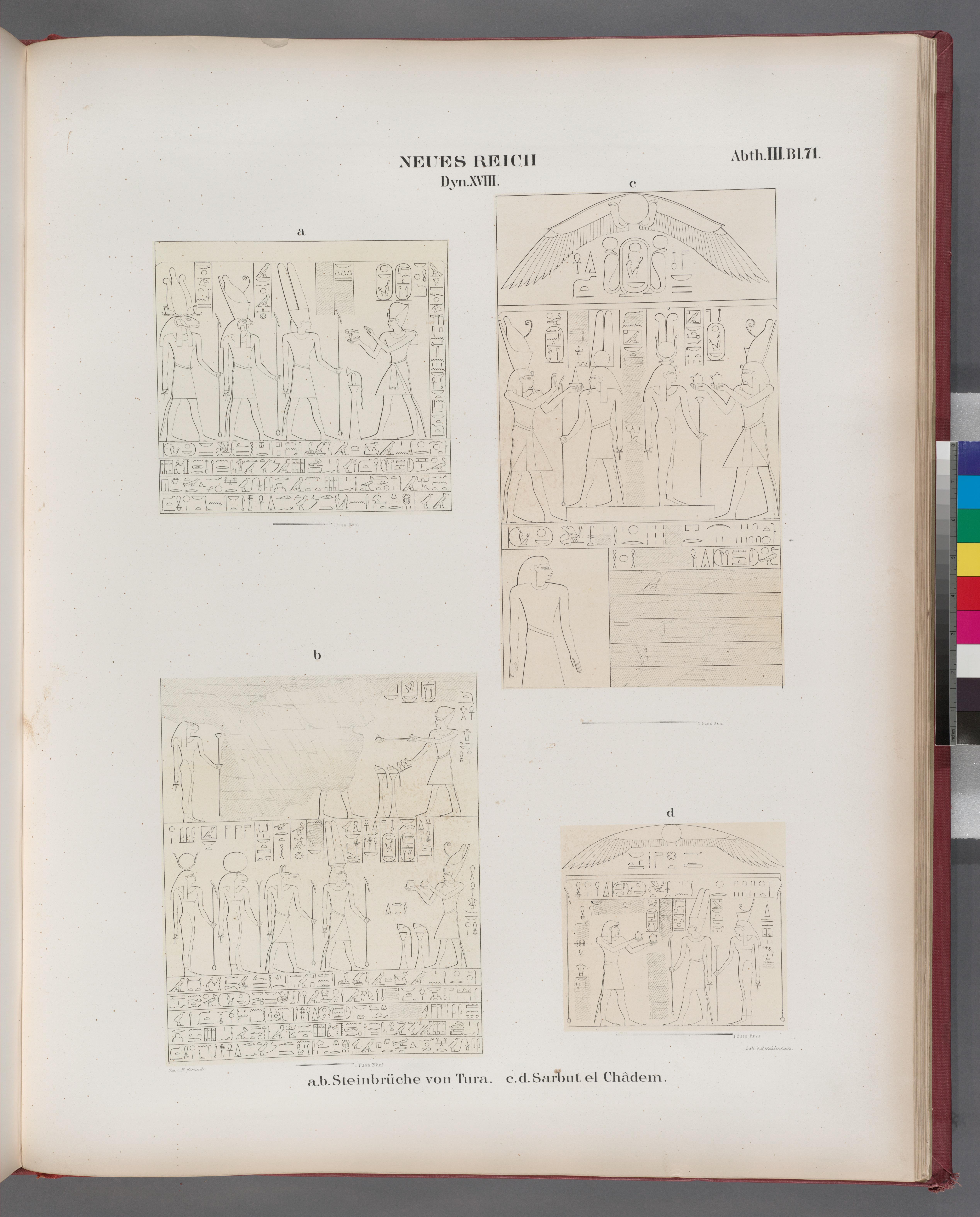 File:Neues Reich. Dynastie XVIII. A. B. Steinbrüche Von Tura; C. D. Sarbut  El