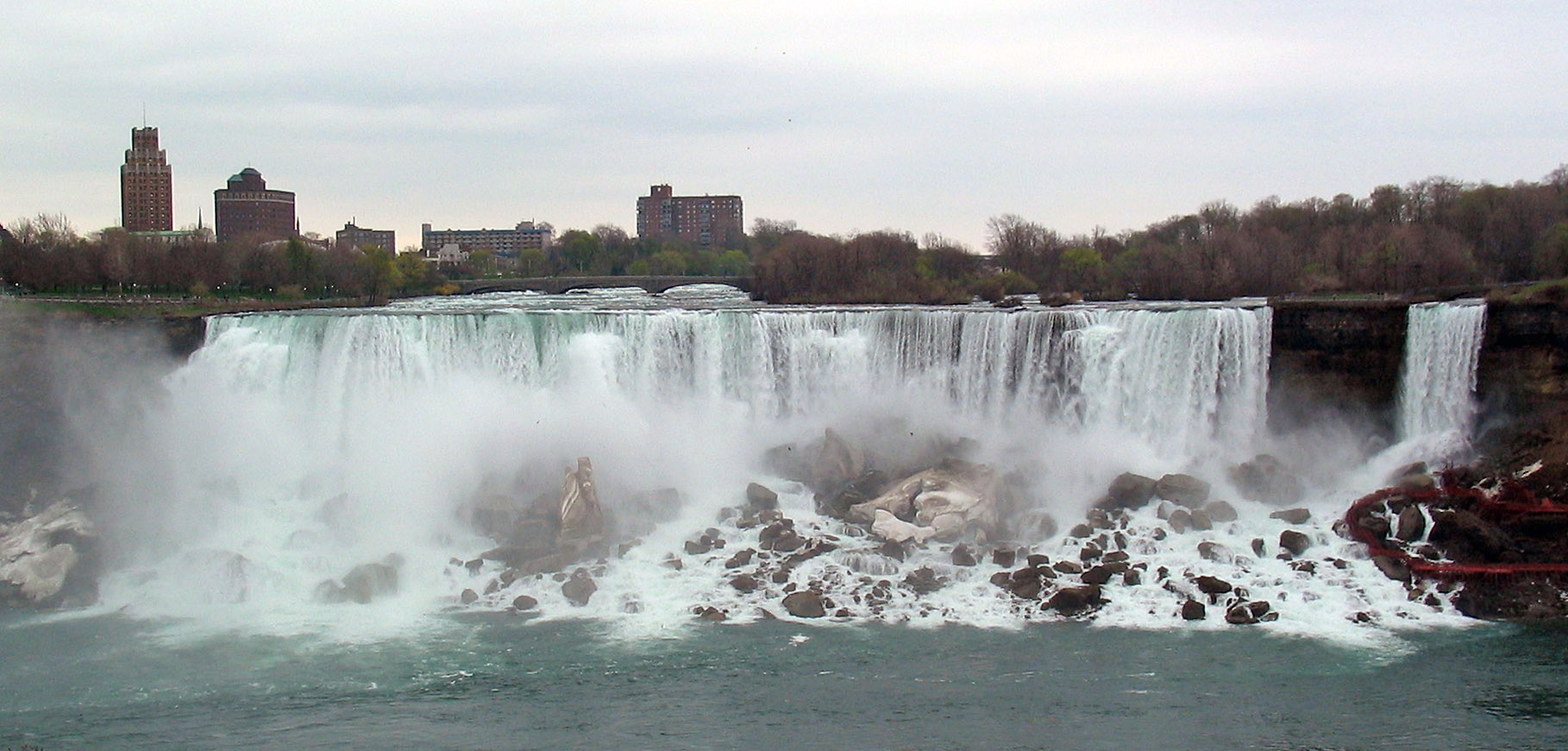 File Niagara Falls The American Falls And Bridal Veil Falls Usa