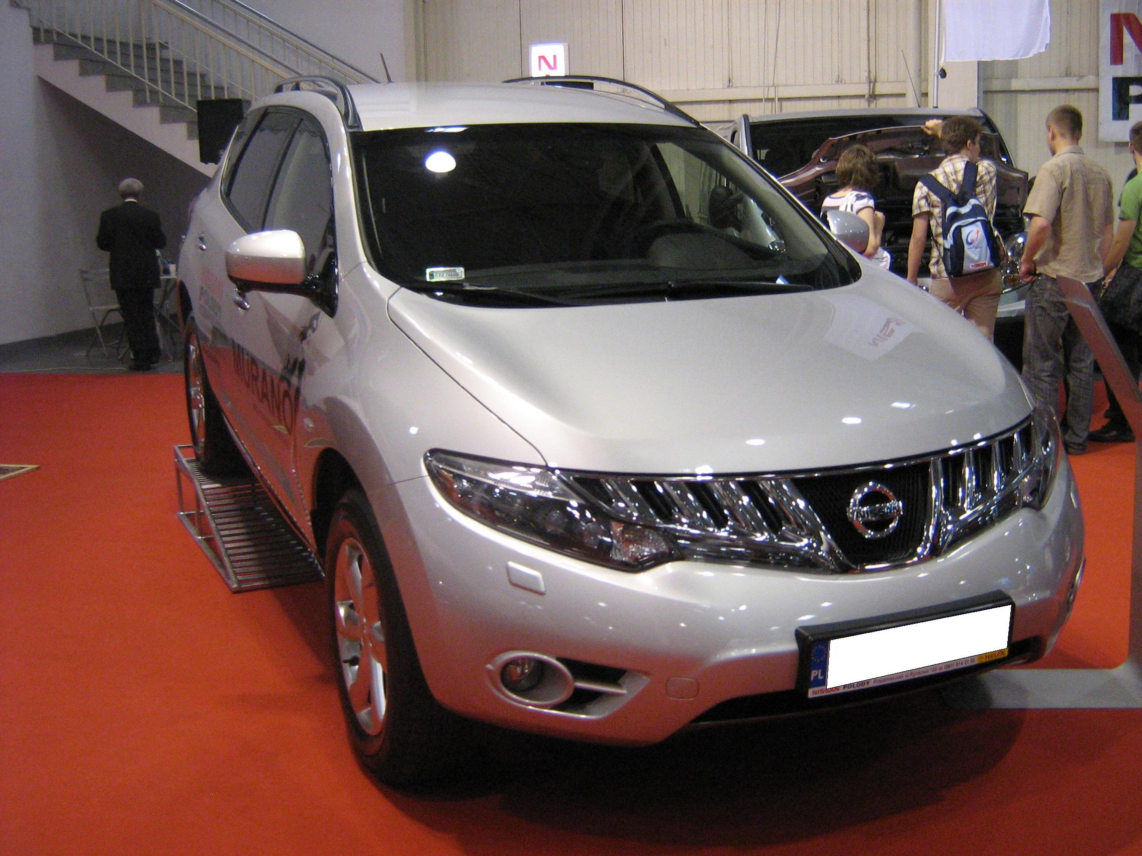 Filenissan murano ii rear psm 2009g wikimedia commons nissan murano ii front psm 2009g vanachro Image collections