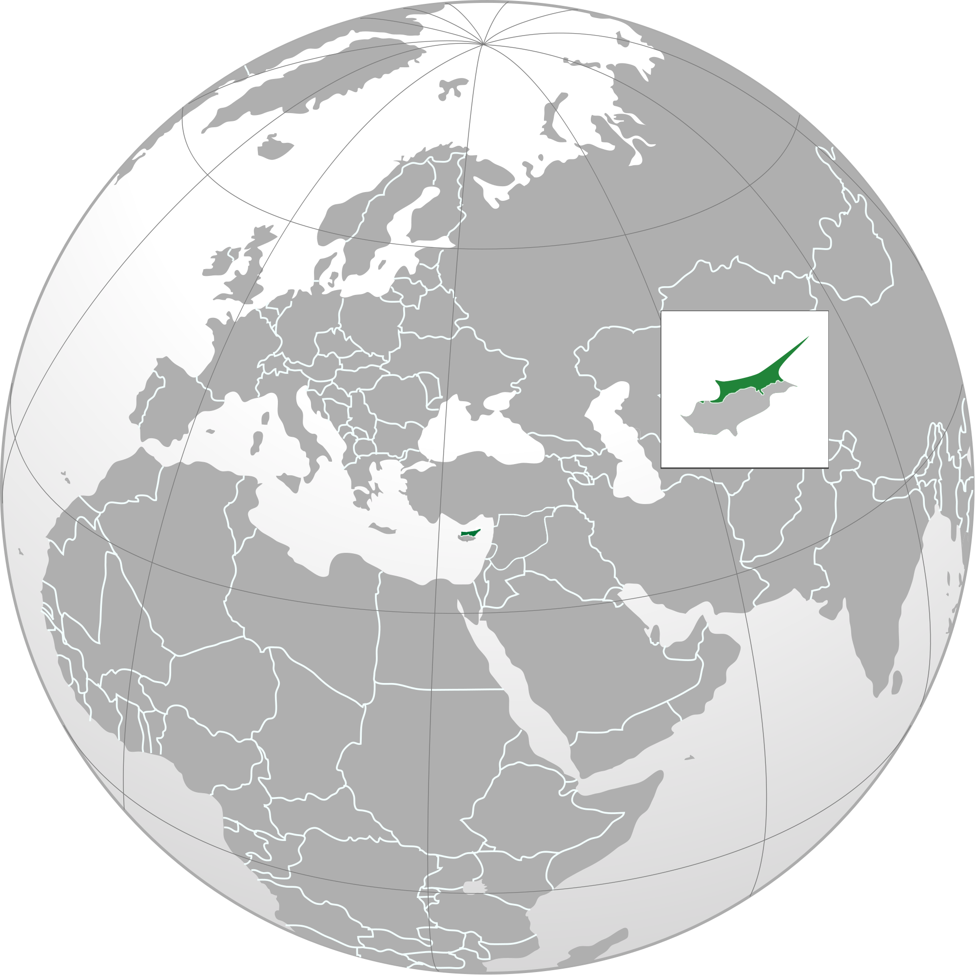 Picture of: Atlas Of Northern Cyprus Wikimedia Commons