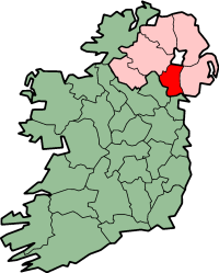 center Map highlighting County Armagh