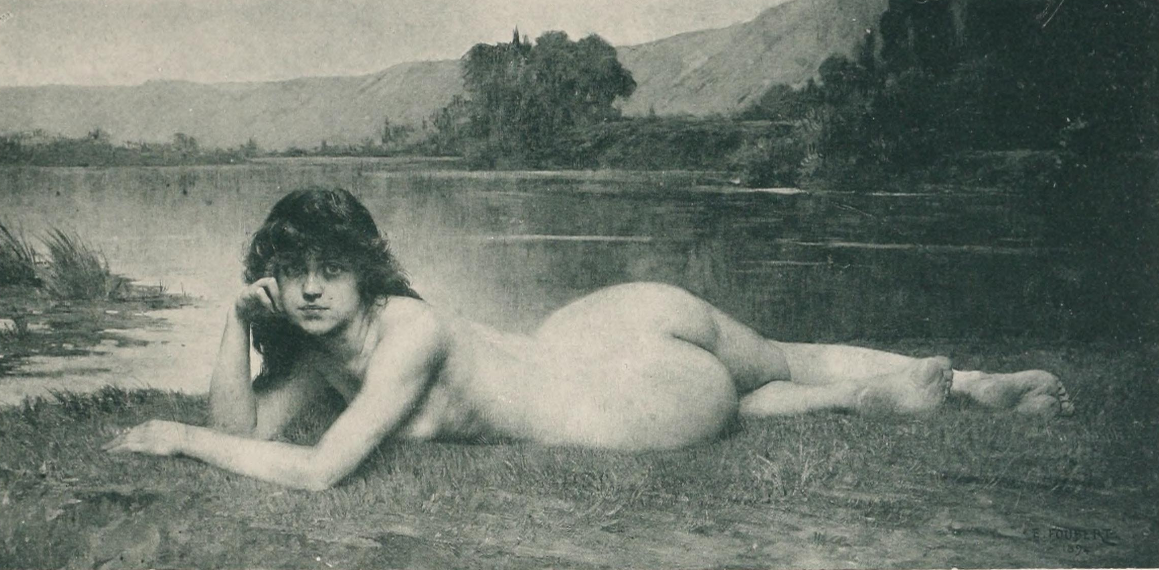 This remarkable Naked girls in th century