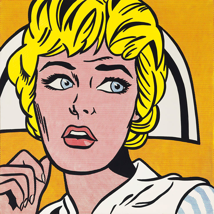 Nurse lichtenstein wikipedia - Roy lichtenstein obras ...