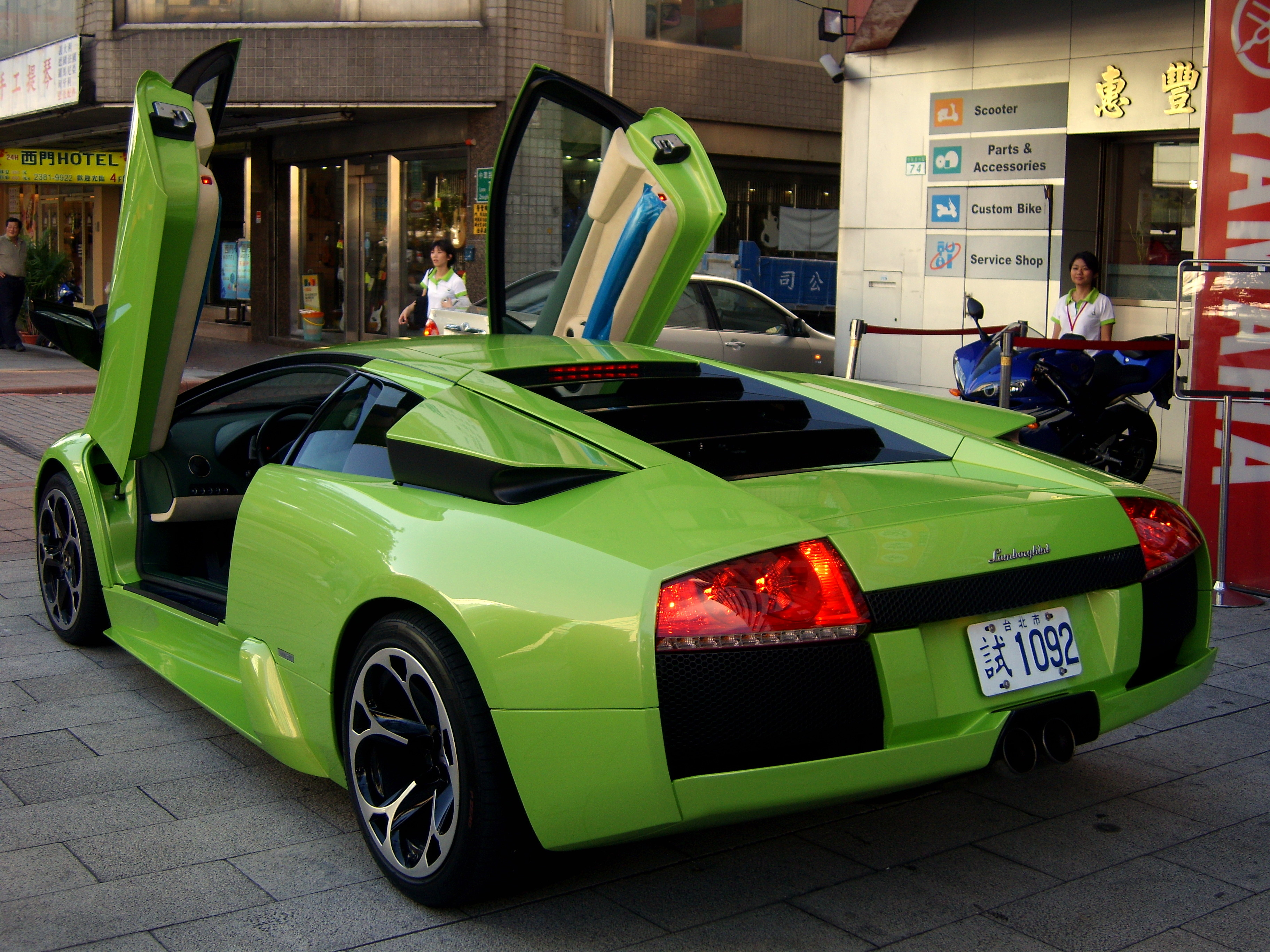 File Pgr4 Pre Launch In Taiwan Lamborghini Murcielago R Gt Back With