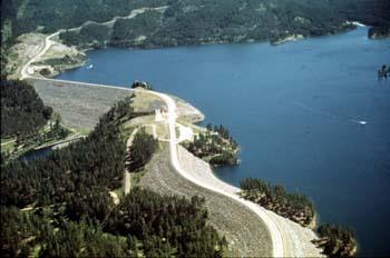 Pactola dam wikipedia for Pactola lake cabins