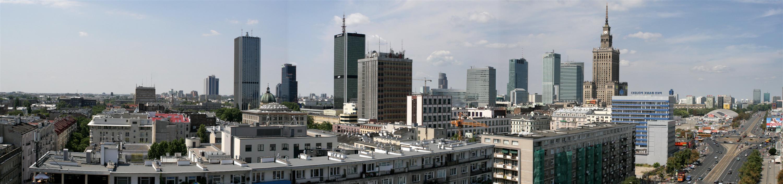 Panorama Warszawy Dumna stolica Polski