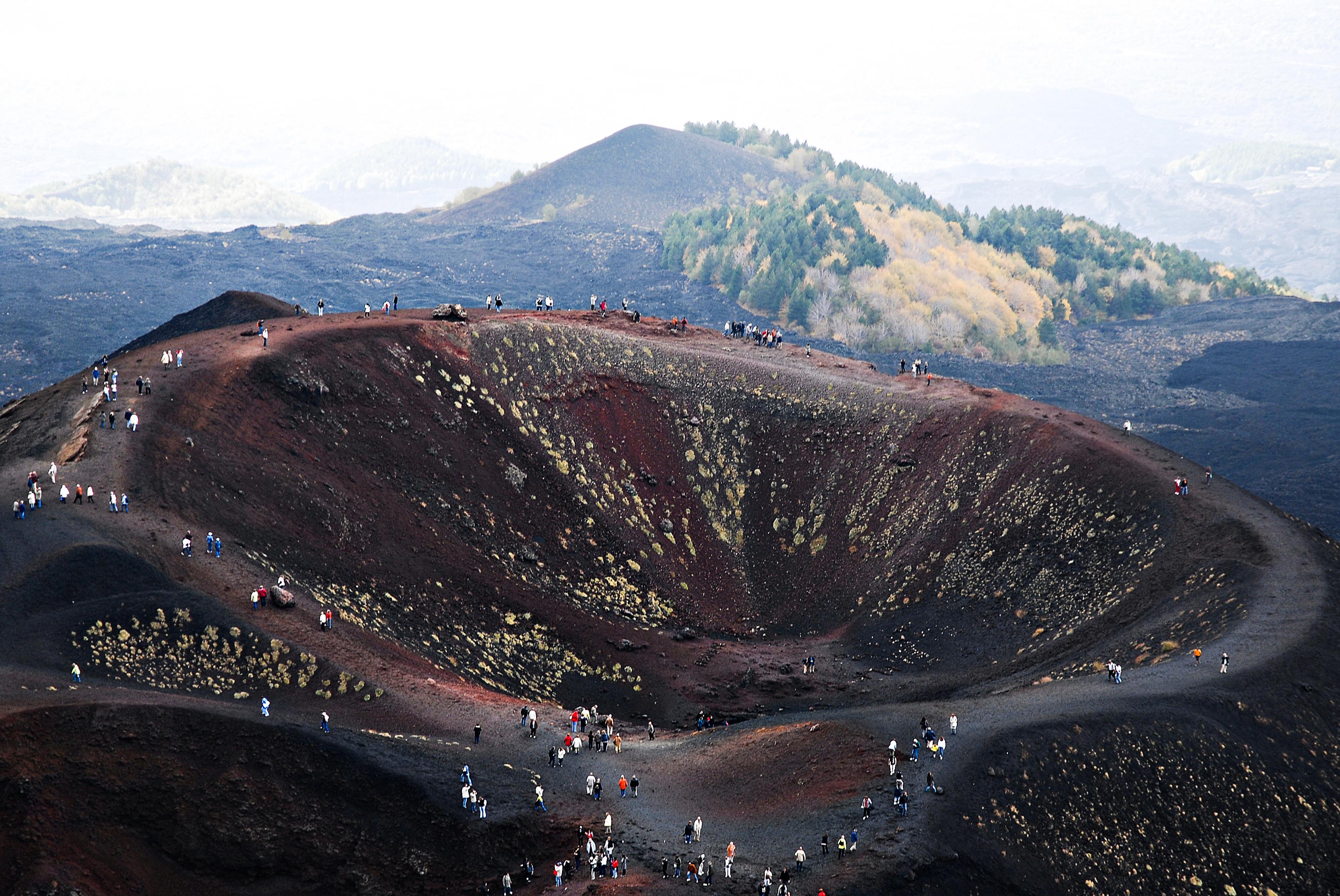 Mt. Etna Crator
