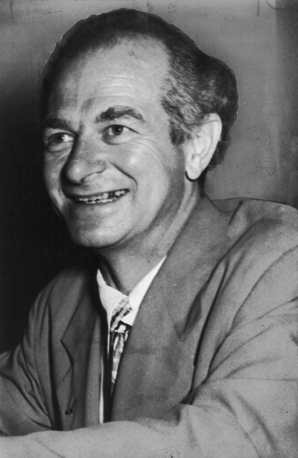 Depiction of Linus Pauling