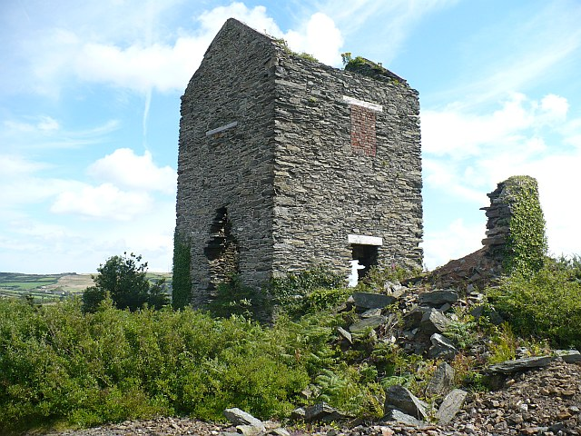 Pearl Engine House, Parys Mountain - geograph.org.uk - 927541