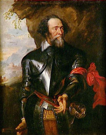 Portrait du comte Henri de Berghe - Anton van Dyck - Musée Condé