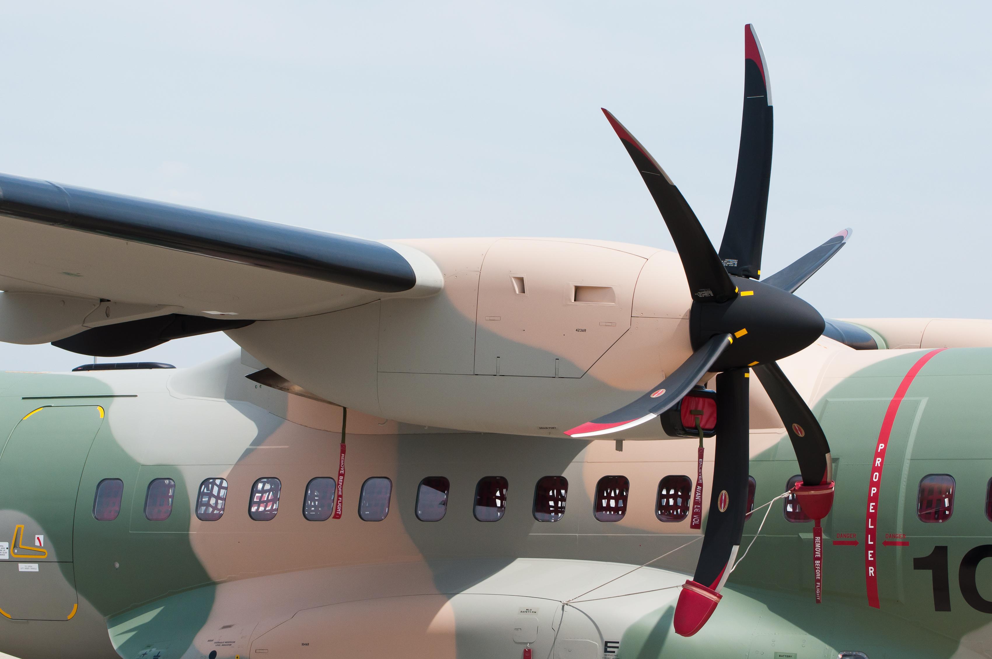 File:RAFO EADS CASA C-295 901 PAS 2013 04 PW127G turboprop engine.