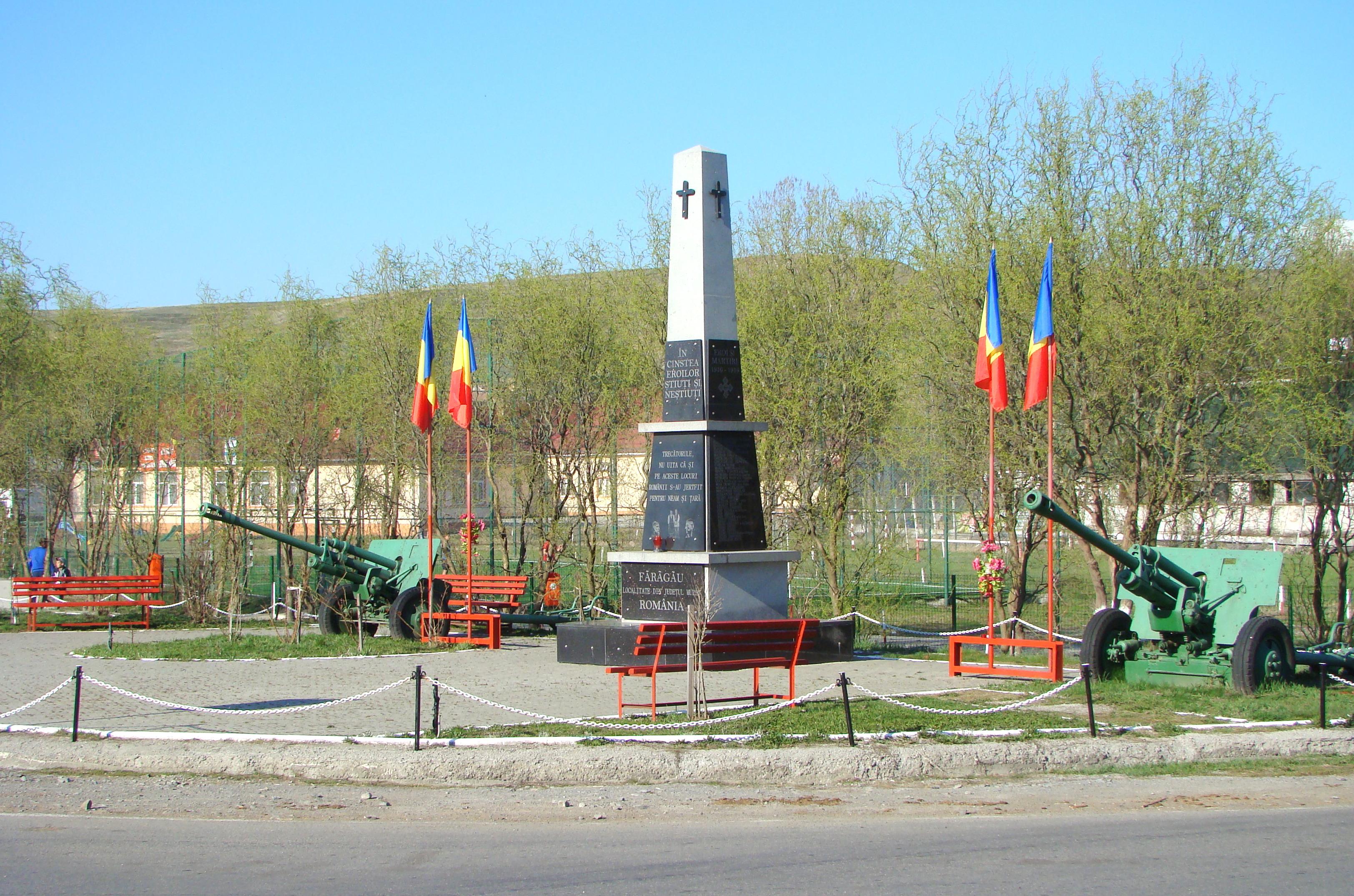 Fărăgău, Mureș