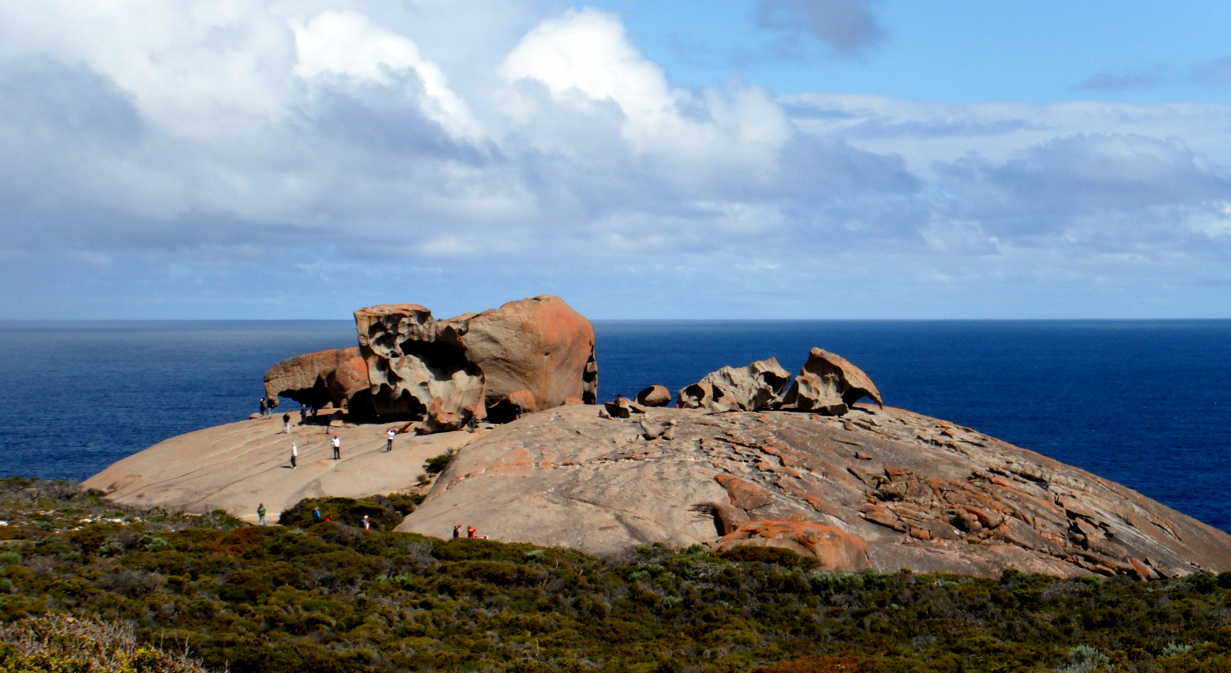 Kangaroo Island Australia  City new picture : Description Remarkable Rocks on Kangaroo Island, South Australia