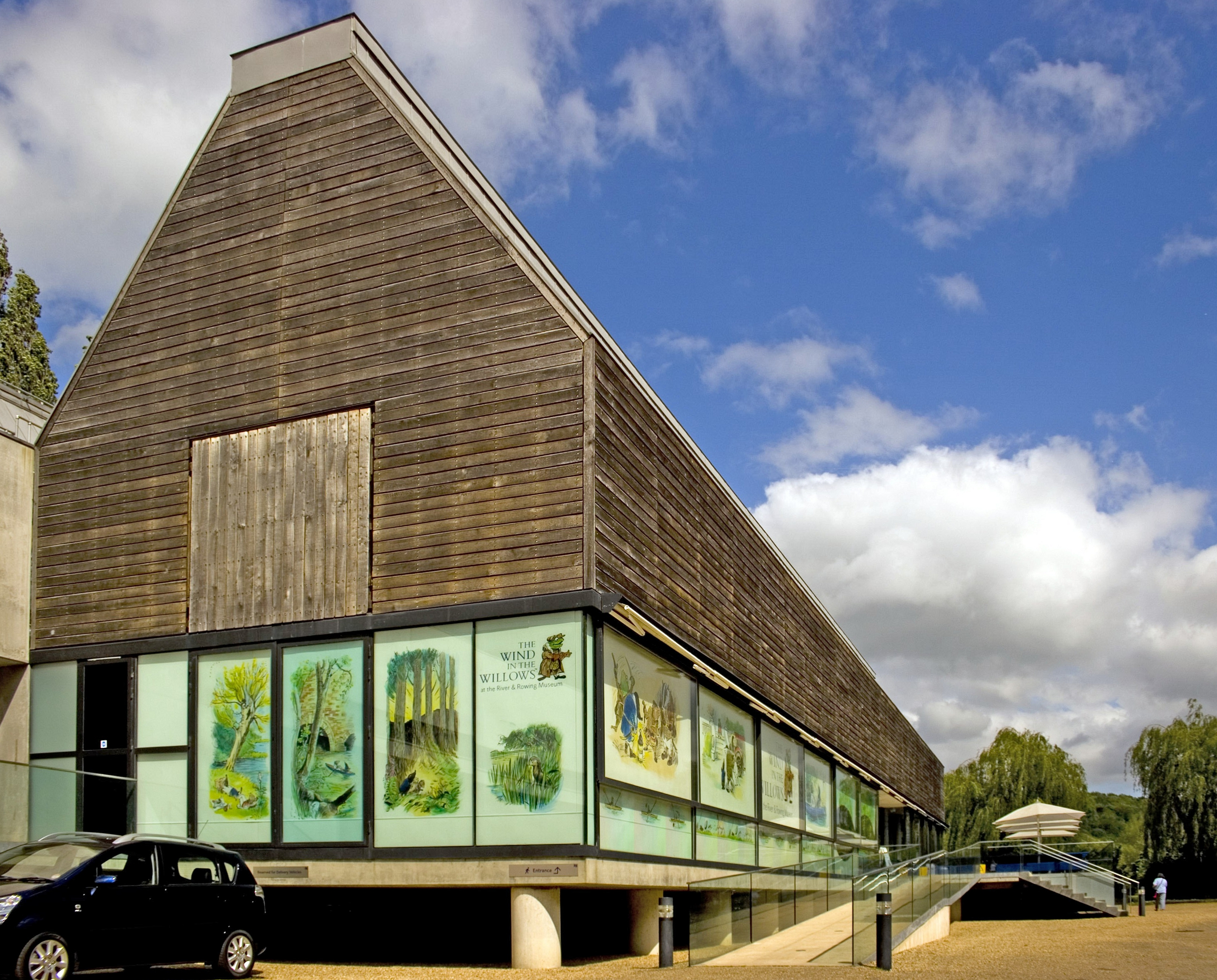 River and Rowing Museum in Oxfordshire by David Chipperfield