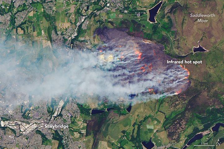 2018 United Kingdom Wildfires Wikipedia
