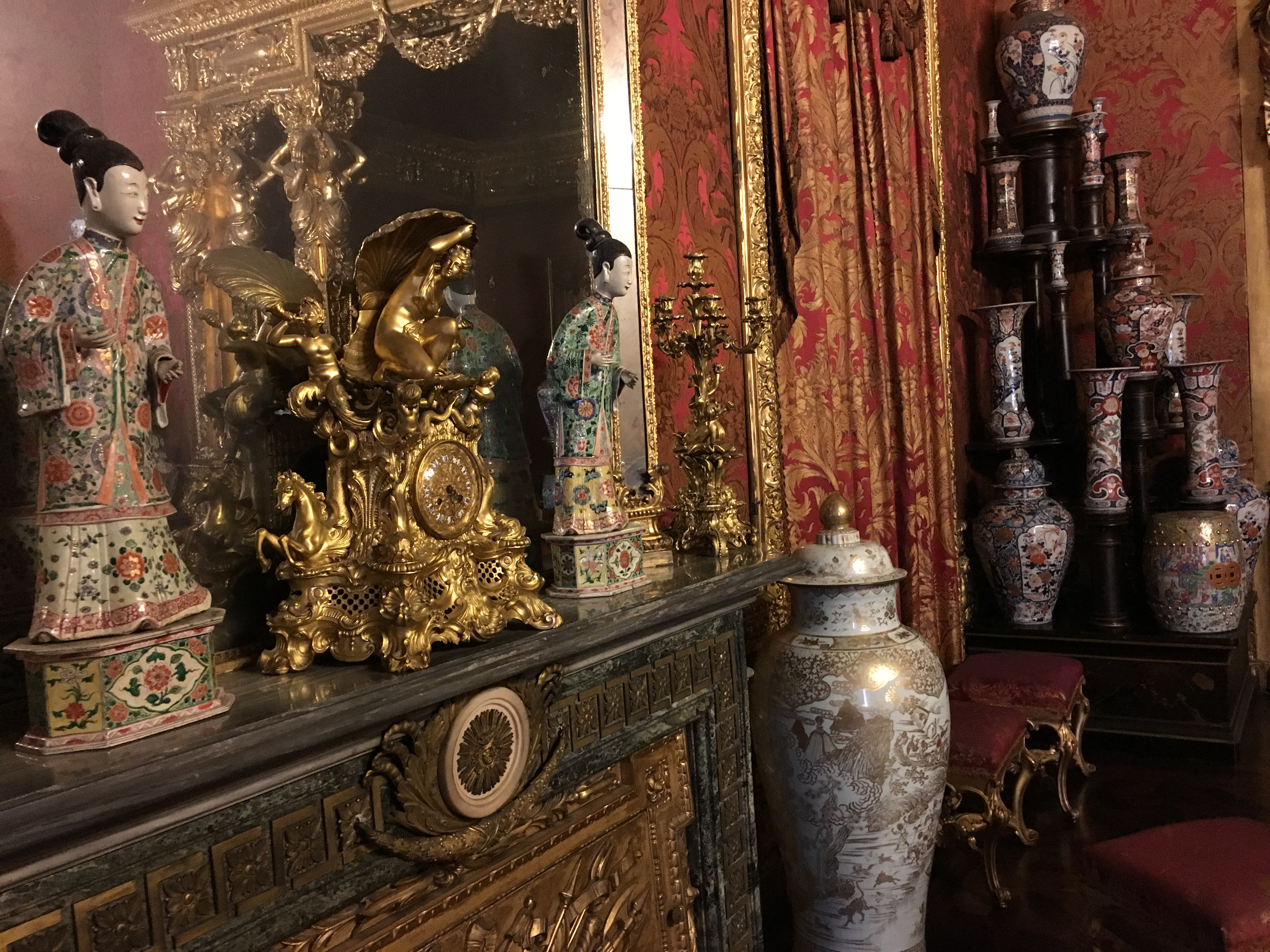 Risultati immagini per sala dell'alcova palazzo reale