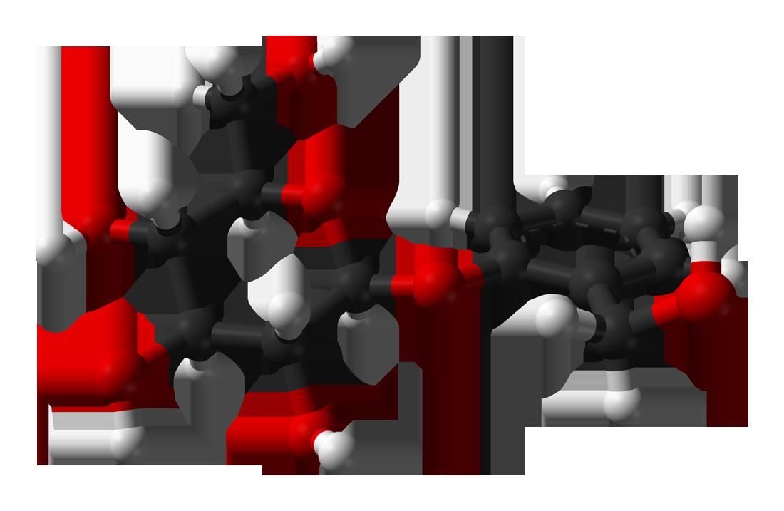 Salicin 3d model