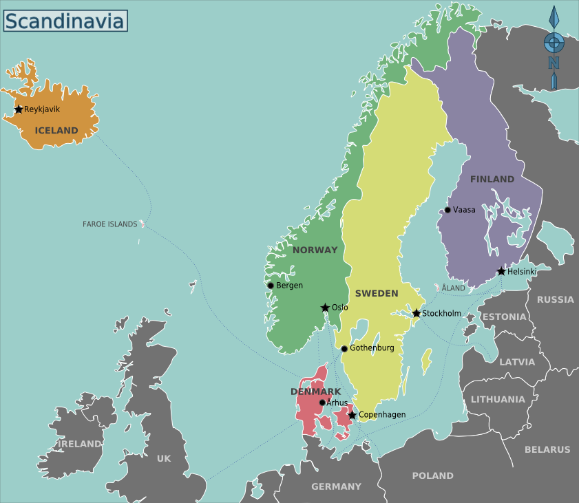 Scandinavië - Wikivoyage