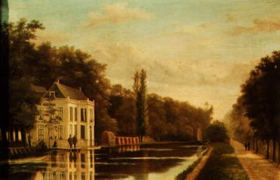 Wonderbaar Bestand:Schilderij liesbosch eind 19e eeuw kleur.jpg - Wikipedia KS-14